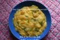 Purè di patate con zucchine e cipolle, ricetta vegetariana