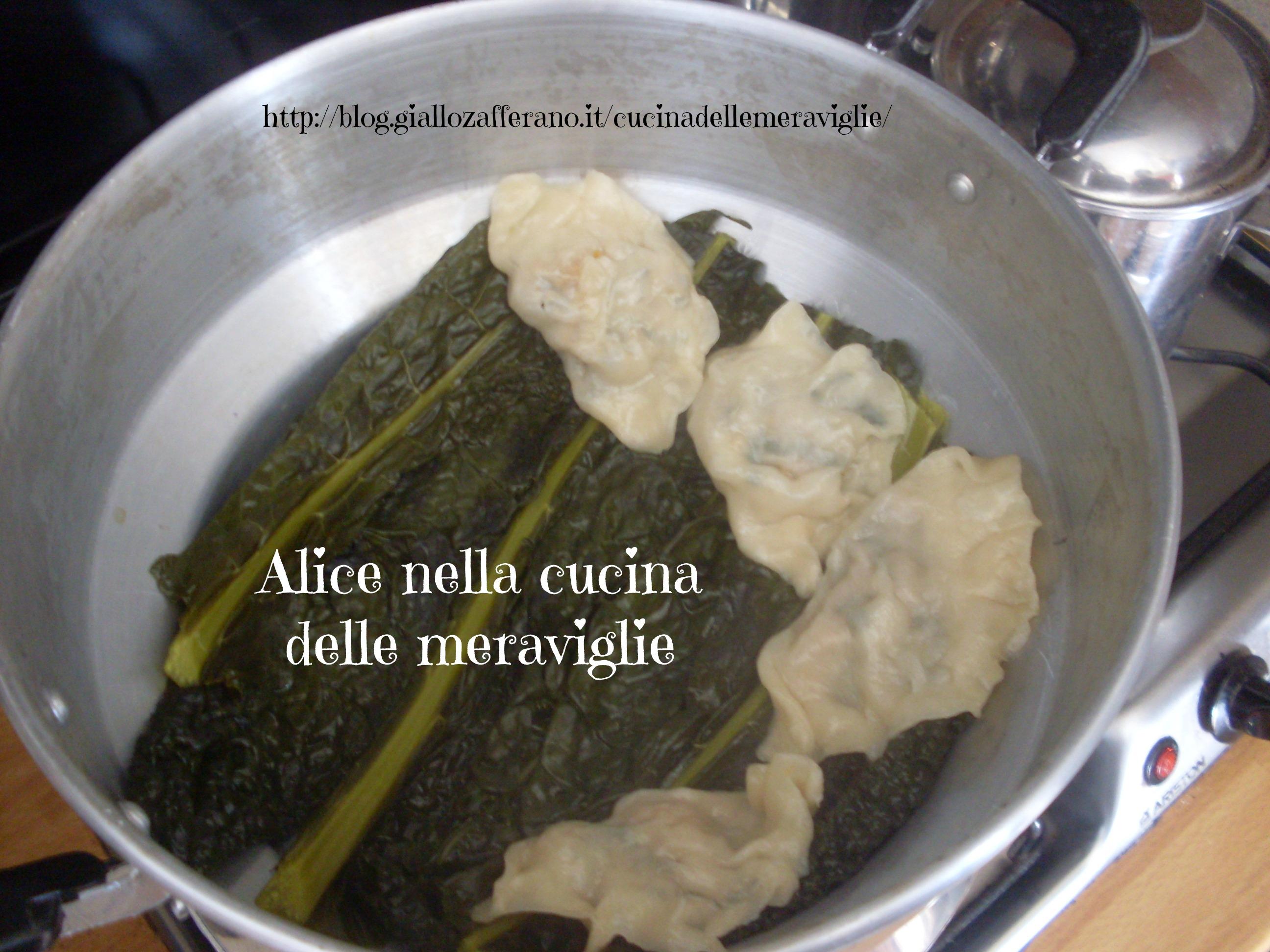 Ravioli al vapore ricetta cinese Alice nella cucina delle meraviglie