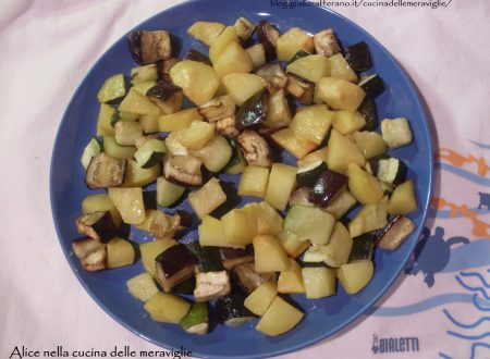Verdure al forno, ricetta contorno vegano