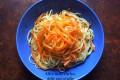 Linguine alle carote, ricetta primo piatto vegano