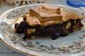 Pie di pere, amaretti e cacao, ricetta dolce