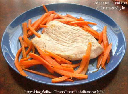 Tacchino e carote al burro, ricetta secondo piatto di carne