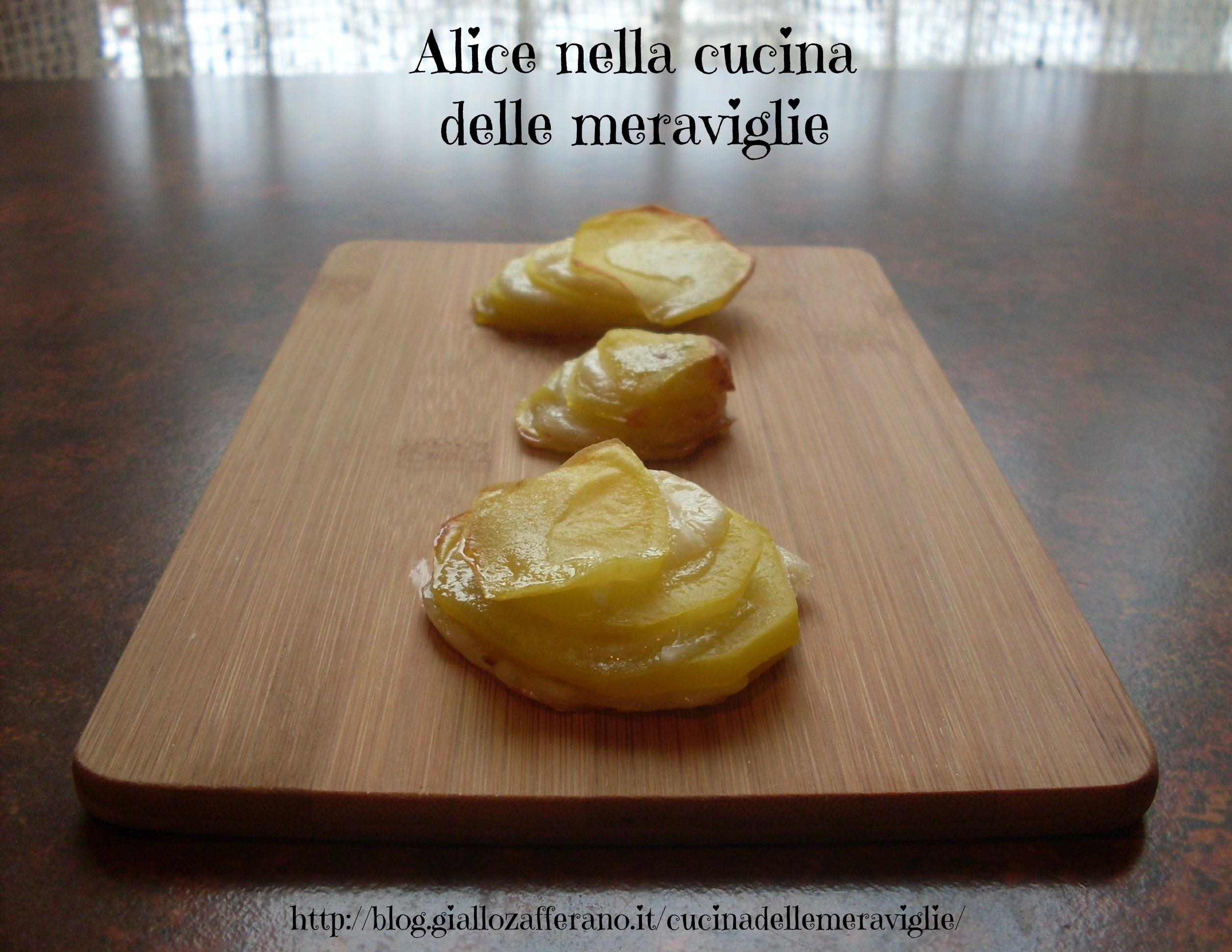 Torri di patate Ricetta antipasto Alice nella cucina delle meraviglie