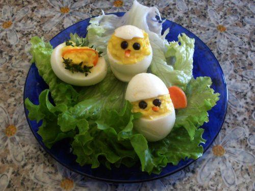 Pulcino di Pasqua, ricetta antipasto vegetariano