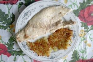 Filetto di pesce persico africano con Rösti di patate, ricetta secondo piatto di pesce