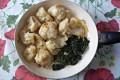 Cavolfiore e spinaci in padella, ricetta contorno vegetariano