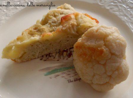 Torta salata di cavolfiore, ricetta antipasto vegetariano