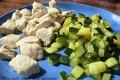 Bocconcini di tacchino con zucchine, ricetta secondo piatto di carne