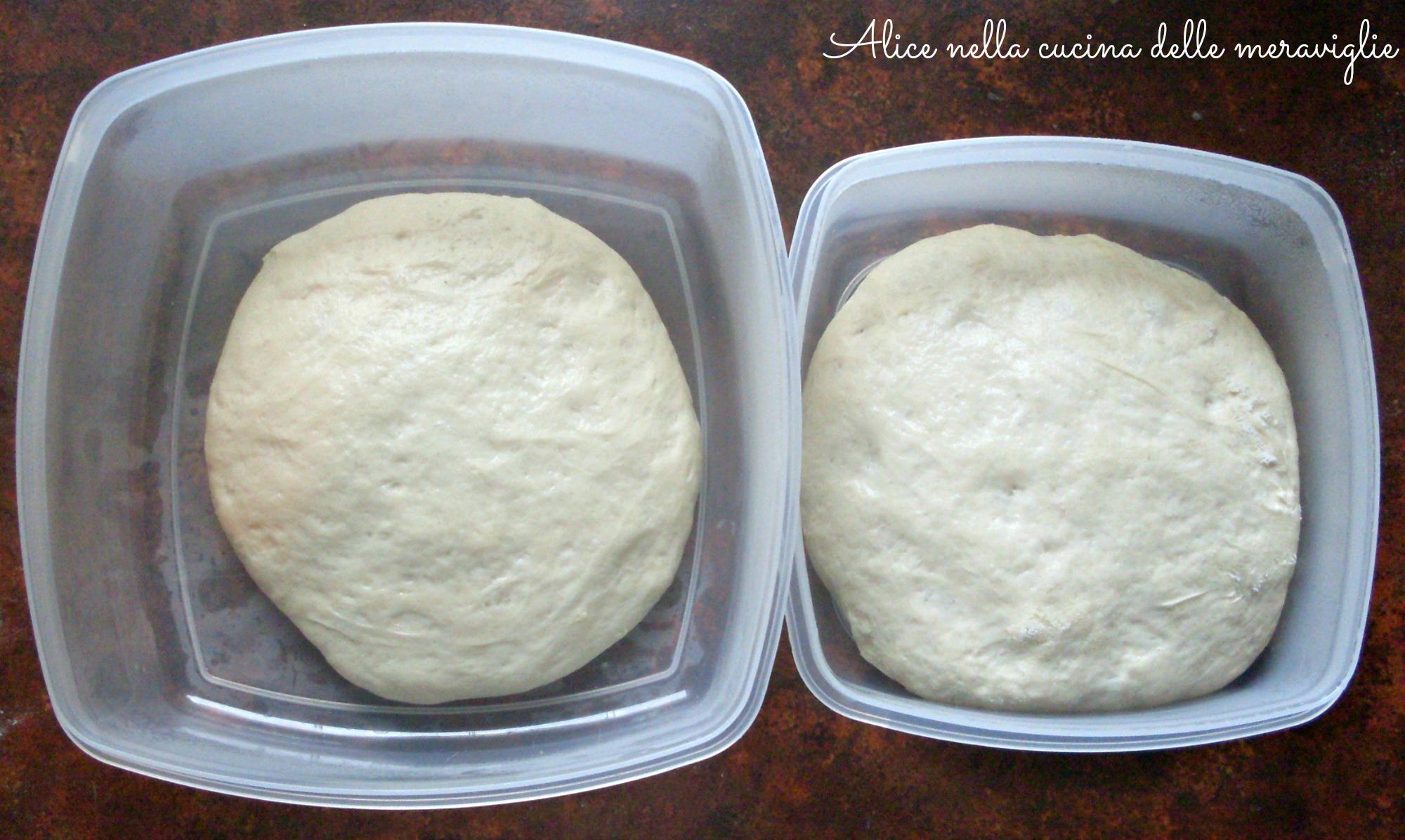 Pizza napoletana Ricetta base Alice nella cucina delle meraviglie