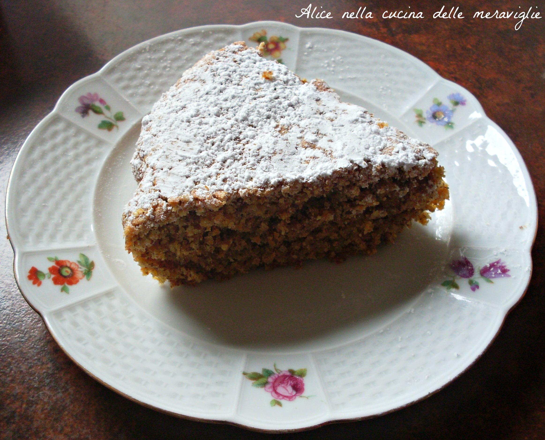Carrot Almond Cake Recipe Alice nella cucina delle meraviglie