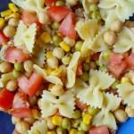 Pasta fredda con verdure e tonno Ricetta primo piatto Alice nella cucina delle meraviglie