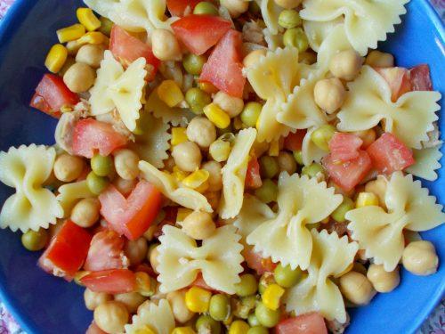 Pasta fredda con verdure e tonno, ricetta primo piatto