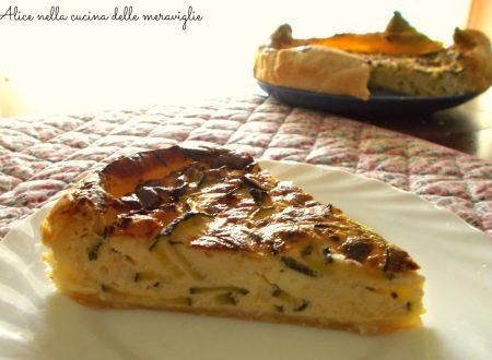 Quiche di zucchine, ricetta vegetariana
