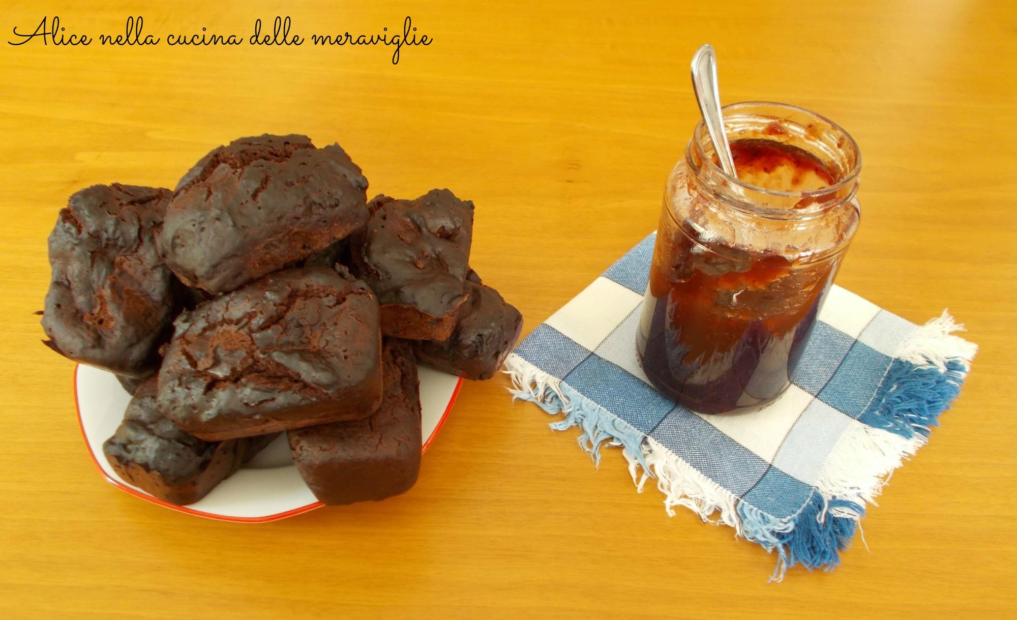 Mini panini al cacao con Stevia Ricetta dolce cotto al vapore Senza uova e senza burro Alice nella cucina delle meraviglie