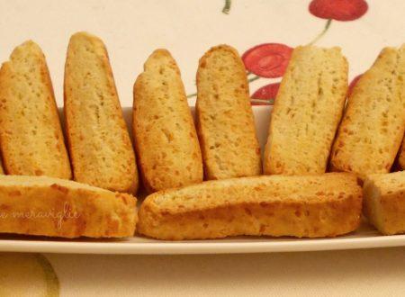 Bastoncini di pane, ricetta antipasto
