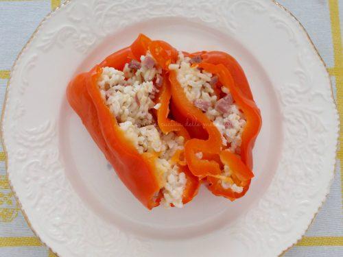 Peperoni ripieni, ricetta con cottura in pentola a pressione