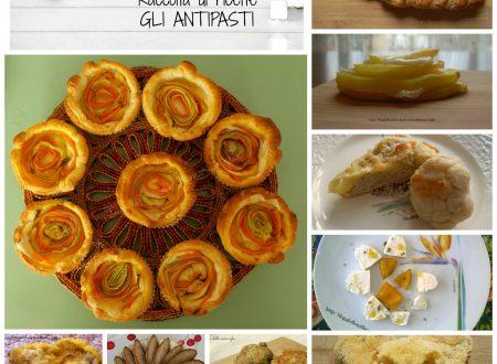 Raccolta di ricette: gli antipasti