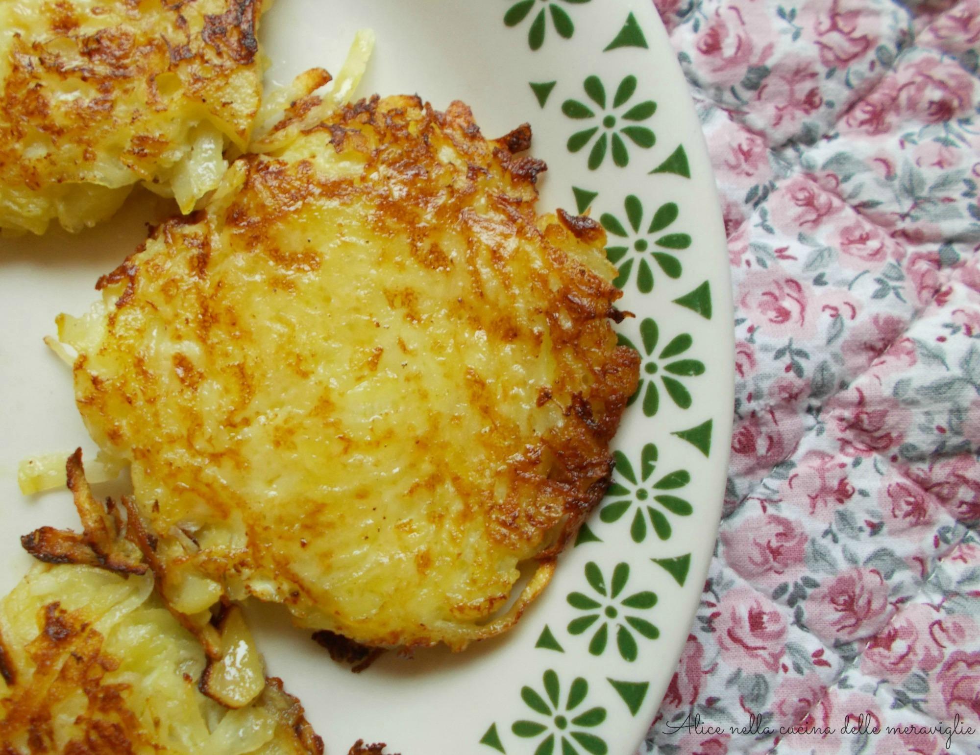 Frittelline di patate (Backela), ricetta contorno