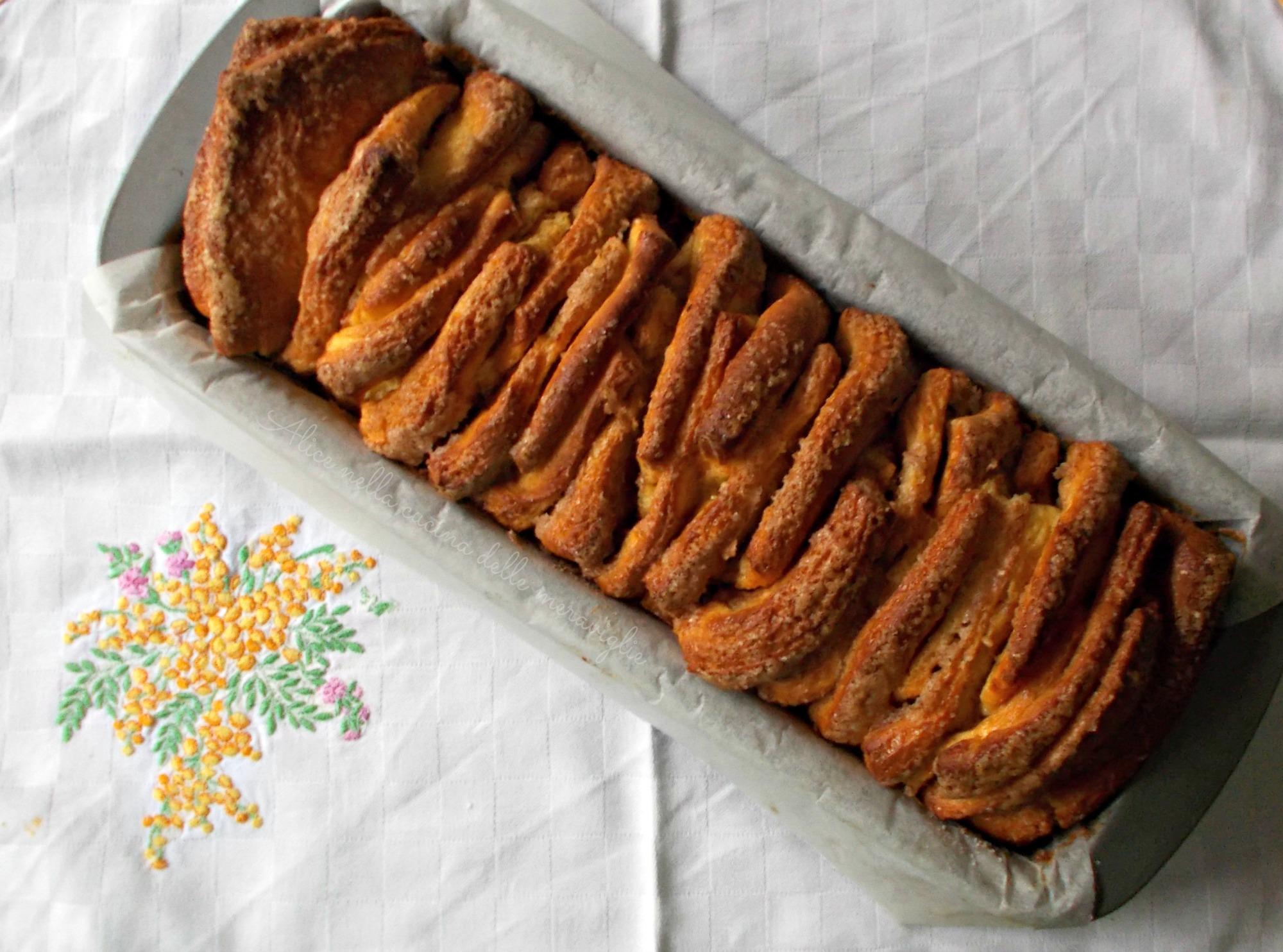 Cinnamon Sugar Pull-Apart Bread   Alice nella cucina delle meraviglie