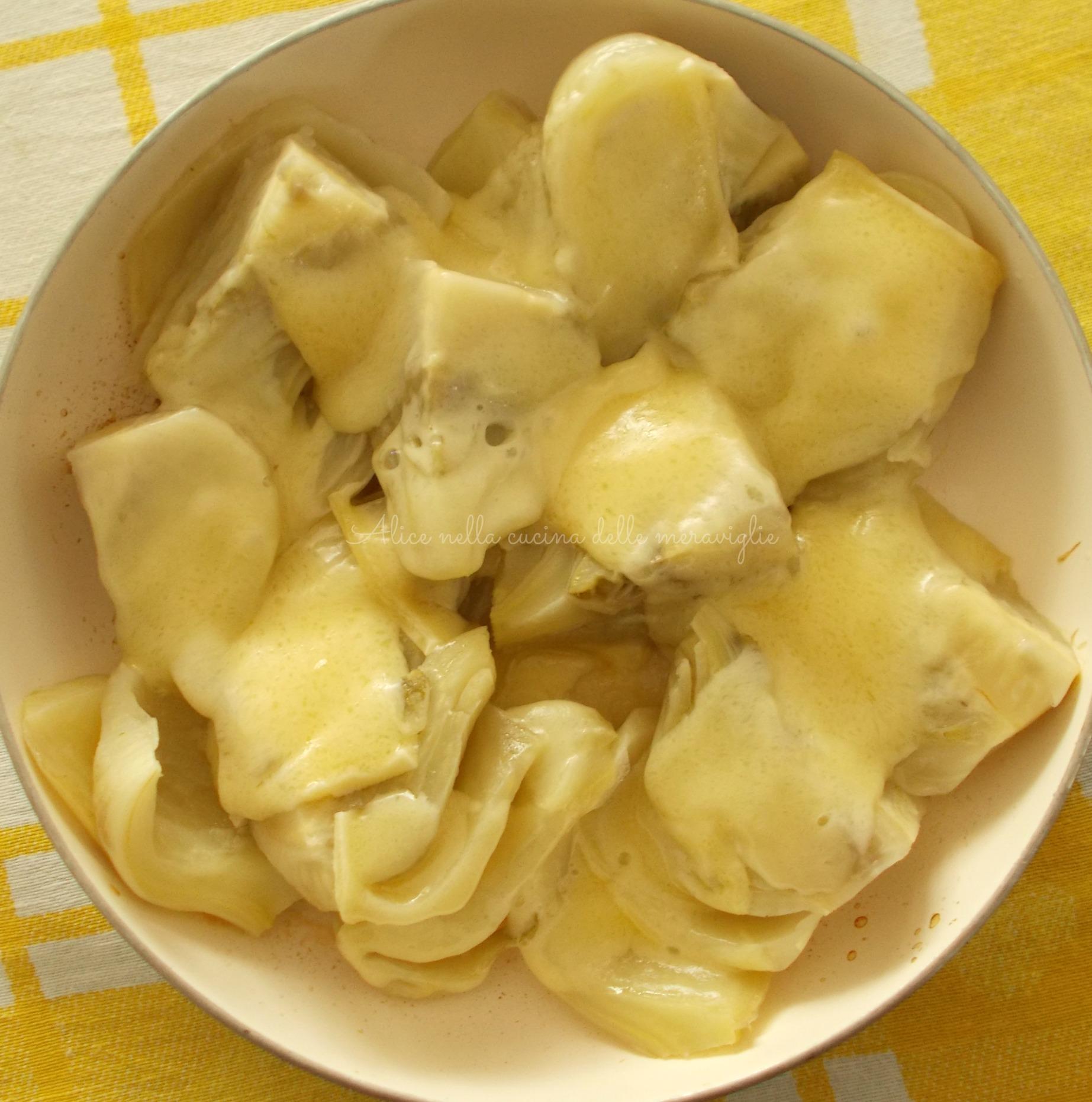 Finocchi al formaggio Ricetta vegetariana Alice nella cucina delle meraviglie