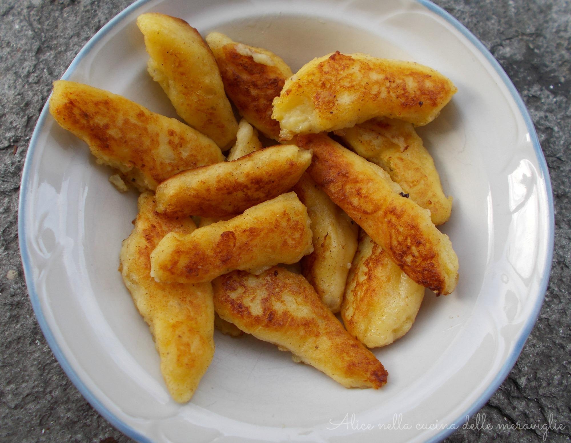 stringoli di patate kartoffelnudeln ricetta contorno alice nella cucina delle meraviglie