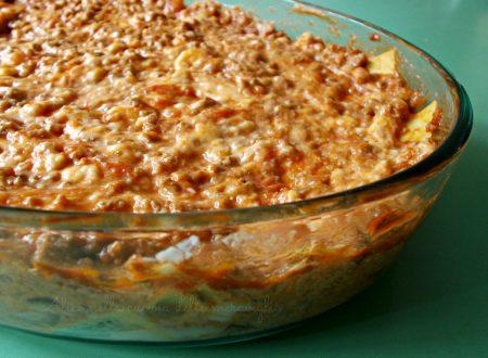 Lasagne di melanzane alla birra, ricetta primo piatto