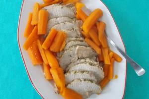 Lonza di maiale arrosto, ricetta secondo piatto di carne in pentola a pressione
