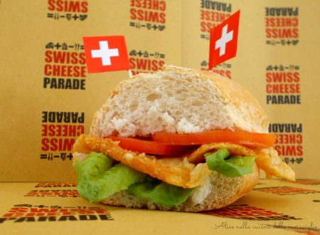 SbrinzBurger, ricetta per Swiss Cheese Parade