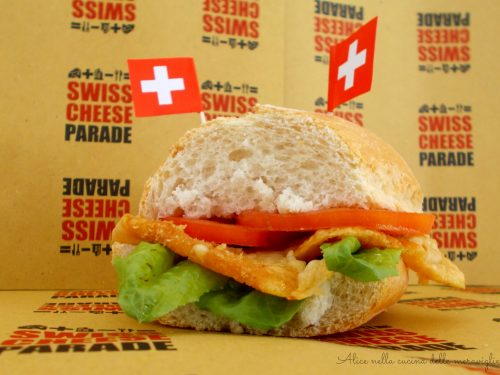 SbrinzBurger, ricetta per Swiss Cheese Parade