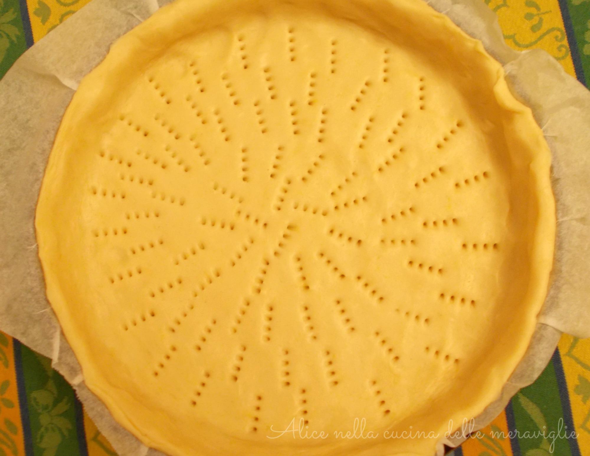 Base per torte salate Ricetta vegetariana Alice nella cucina delle meraviglie