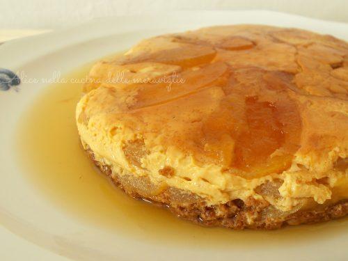 Budino di mele e amaretti, ricetta dolce in pentola a pressione