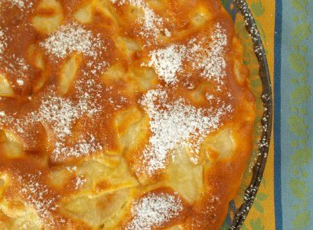 Torta di pere, ricetta dolce light (senza burro)