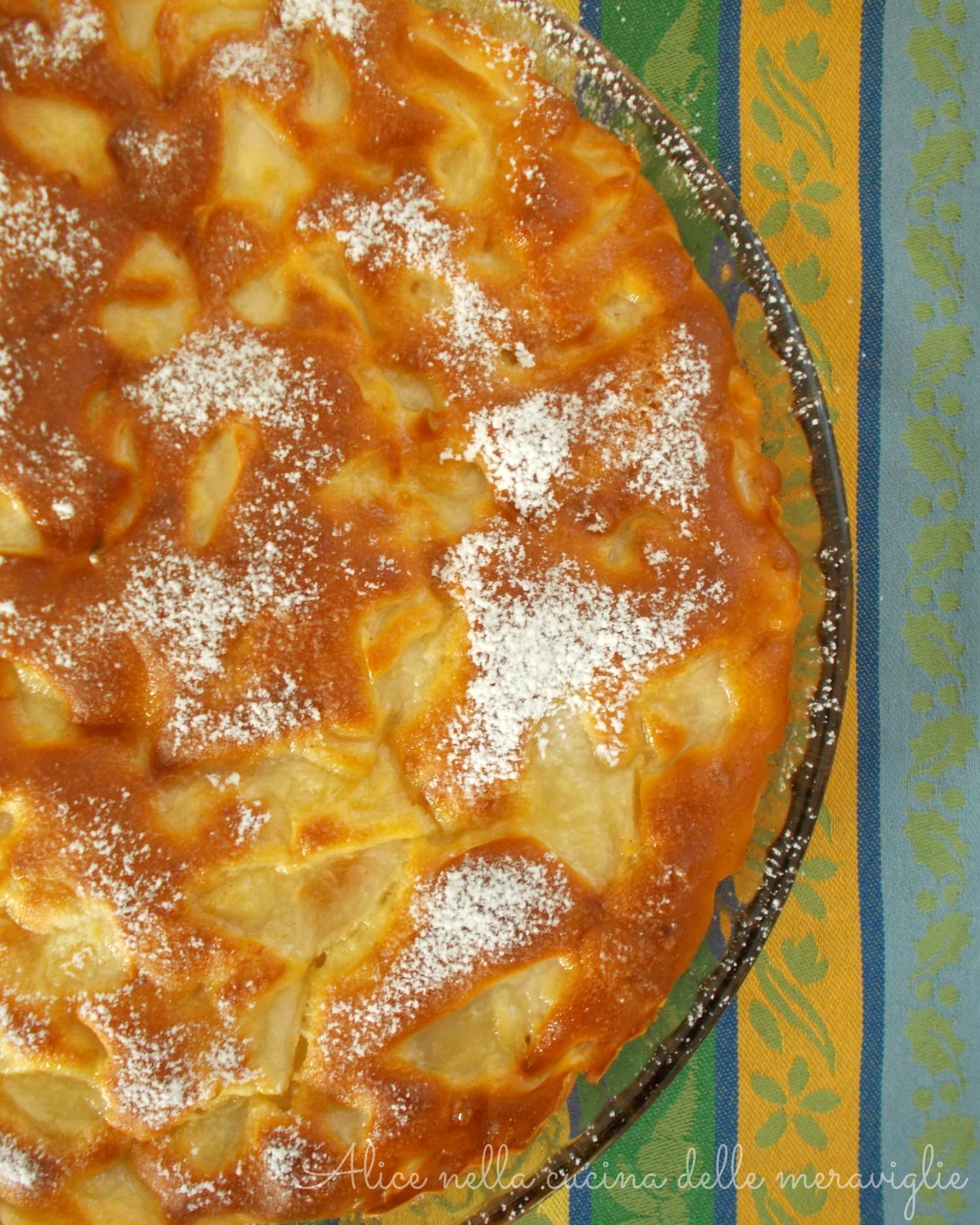 Pear Cake Alice nella cucina delle meraviglie