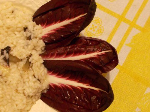 Risotto al radicchio trevigiano, ricetta primo piatto