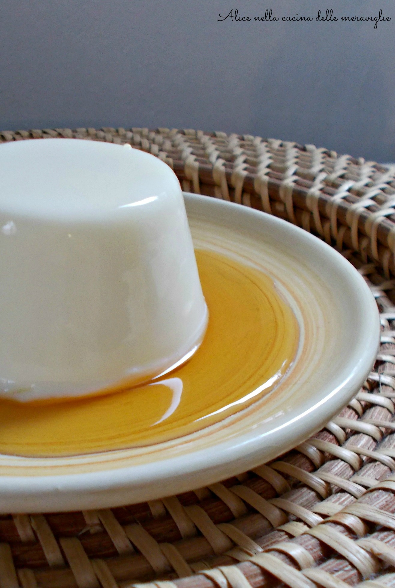 Maple Syrup Panna Cotta Alice nella cucina delle meraviglie