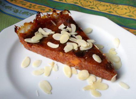 Torta di cachi, ricetta dolce (senza uova)