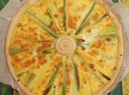 Torta salata ai porri, ricetta vegetariana