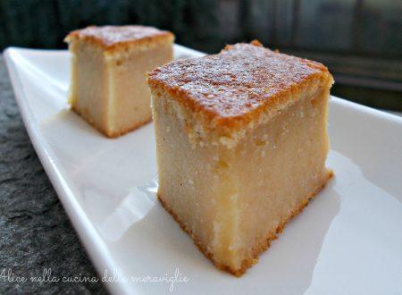 Torta di mele invisibili, ricetta dolce