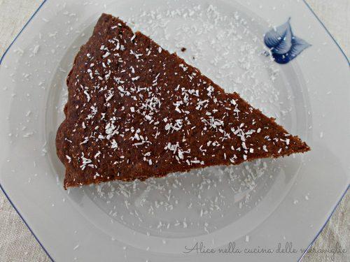 Cocoa Coconut Cake