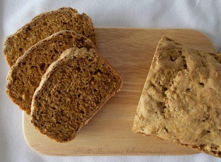 Pane alla zucca e cereali, ricetta lievitato salato