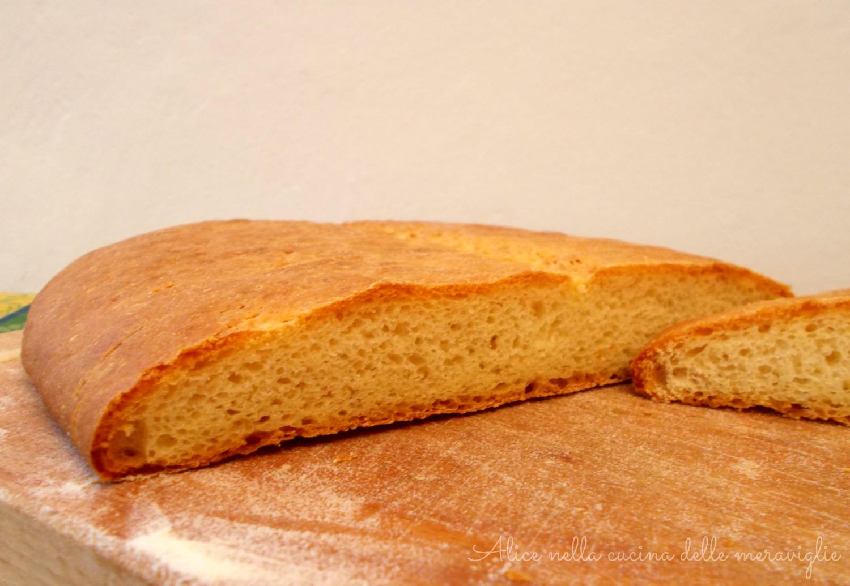 Pane al purè Pane con fiocchi di patate Ricetta lievitato Alice nella cucina delle meraviglie