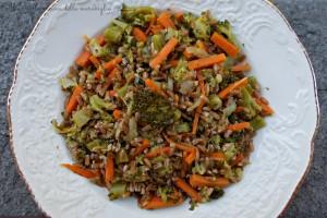 Farro con carote e broccoli, ricetta primo piatto vegano light
