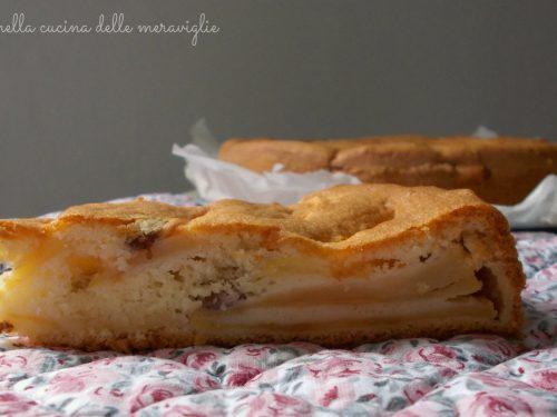 Torta Ortisei (torta ripiena di mele), ricetta dolce