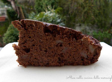 Torta cioccopere, ricetta dolce vegano (senza uova e senza burro)