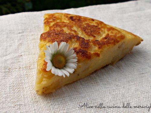 Frittata dolce alla banana, ricetta dolce cotto in padella