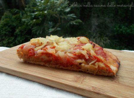 Impasto per pizza con farina ai cinque cereali, ricetta lievitato salato