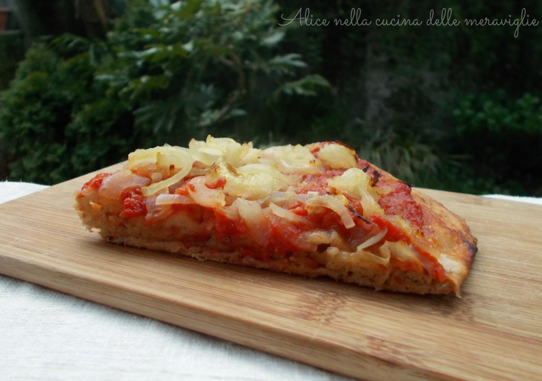 Impasto per pizza con farina ai cinque cereali Ricetta lievitato salato Alice nella cucina delle meraviglie