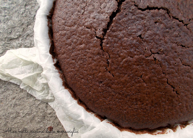 Torta al cacao Ricetta dolce light Senza uova Alice nella cucina delle meraviglie