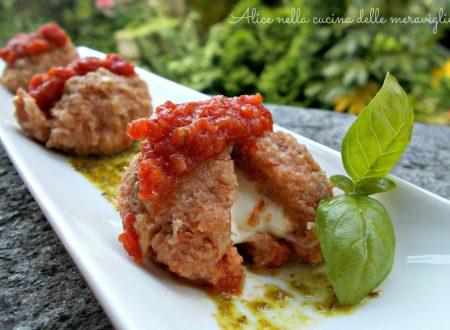 Canederli caprese, ricetta primo piatto vegetariano