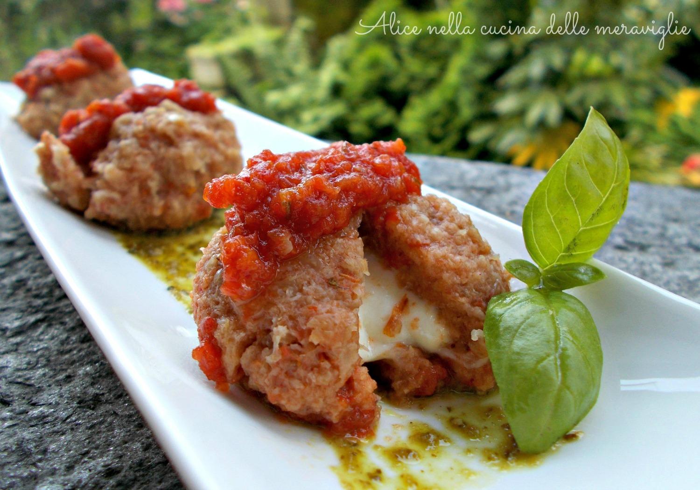 Canederli caprese Ricetta primo piatto vegetariano Alice nella cucina delle meraviglie